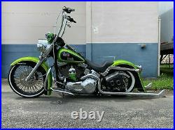 Harley Davidson Softail Classic Heritage Cholo 6 Stretched Rear Fender