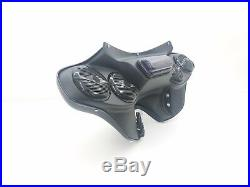 Harley Davidson Softail Heritage Deluxe Batwing Fairing 5 1/4 Stereo Setup