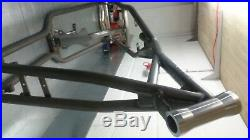 Harley Davidson sportster chopper bobber zodiac kraft tech hardtail frame