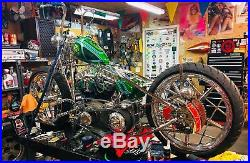 Harley Gas Cap CROWN, handmade brass, custom bike