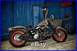 Harley Grips Brass