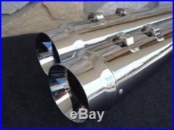 Harley Street Glide Flhx Touring Bagger 95-16 Dna Megaphone 4 Slip-on Mufflers