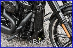 Harley-davidson Aggressor M8 Softail Radiator Cover / Chin Spoiler 2018-2020