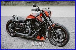 Harley-davidson Black Fork Cover Kit For V-rod Night Rod Special 2007-2011 Vrod