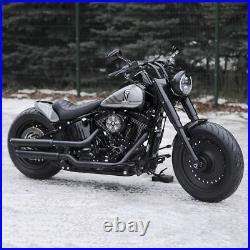 Harley-davidson Short Bobber Softail Rear Fender And Seat Kit 06-11 Oldschool
