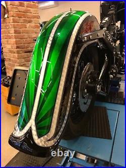 Harley-davidson Softail Slim 4 Stretch Rear Fender 2012-2017 Fls Custom