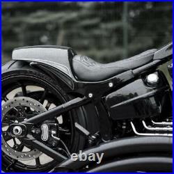 Harley-davidson Softail Solo Seat Rear Fender Fat Racer 08-17 Breakout, Rocker