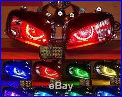 Honda CBR600RR 2003-04-05-2006 Custom Headlight assembly Multi color Angel eye