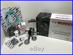 Honda Cr 125r Wiseco Complete Rebuild Kit Crankshaft, Piston, Gaskets 2001-2002