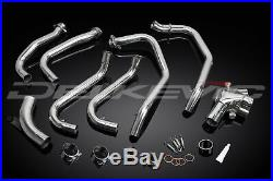 Honda Vfr800f Vfr800 Vtec 1998-2013 Stainless Steel Exhaust Downpipes Oem