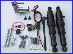 Honda Vtx 1300 1800 Shadow 1100 Adjustable Air Ride Suspension Kit Airmax Gauge