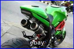Honda grom dual exhaust 125 for pipe msx125 mount high black sf 2014 -2020