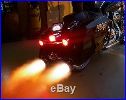 Hot Licks Exhaust Flamethrower Single Exhaust Kit for Motorcycles All Vehicles