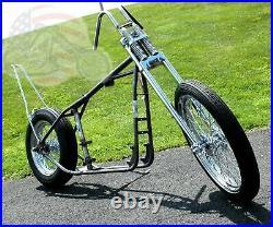 Ironhead Chopper Narrow Springer Paughco Rigid Frame Sportster Rolling Chassis