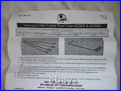 JIMS Harley adjustable PUSHRODS shovelhead (or) panhead. SUPER HIGH QUALITY