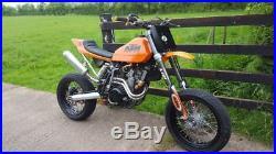 KTM 520, Super moto, street tracker, custom, Flat tracker