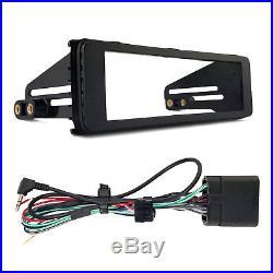 Kenwood Marine Bluetooth Radio, Harley Single-DIN Stereo Install Kit