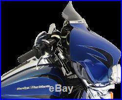 Klock Werks Flare Dark Smoke 5 Windshield for 14-20 Harley Touring FLHX FLHTKL