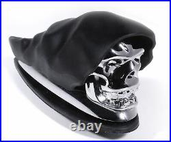 Kotflügel Ornament Totenkopf Chrom Skull für Harley Davidson Honda Suzuki Yamaha