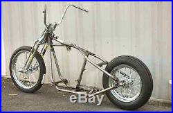 Kraft Tech Chopper Bobber Rigid Hardtail Frame Springer Rolling Chassis Harley
