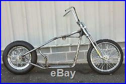 Kraft Tech Hardtail Rigid Frame Rolling Chassis Bike Kit 86-03 Harley Sportster