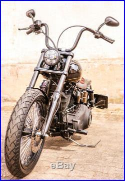 LED SCHEINWERFER 5,75 mit Standlicht Harley Davidson DYNA Street Bob CHROME