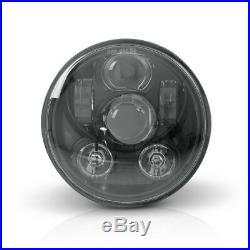 LED Scheinwerfer 5 3/4 für Harley Dyna Low Rider/ S/ Street Bob, Rocker/ C