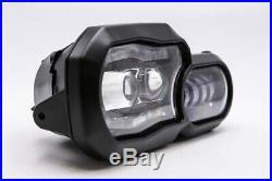 LED Scheinwerfer Daymaker BMW Modelle F 650 700 F 800 GS F 800 R mit Zulassung