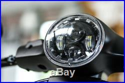 LED Scheinwerfer Daymaker Vespa GTS 300 alle Baujahre E-Zulassung BSB Customs