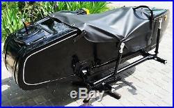 LEFT SIDE SIDECAR Dnepr Compatible for Motorcycle BMW Harley Davidson Ural Honda