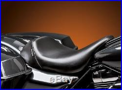 Le Pera Barebones Bare Bones Solo Seat 2008-2018 Harley Touring Bagger Dresser