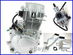 Lifan 200cc 5 Speed Engine Motor CDI Carburetor Dirt Bike Go Kart I En25-set