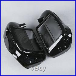 Lower Vented Leg Fairing + 6.5 Speakers With Grills For Harley Touring 2014-2018