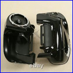 Lower Vented Leg Fairing W 6.5 Speakers For Harley Touring Electra Glide 83-13