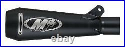 M4 Exhaust Suzuki GSXR1000 2007-2008 GP Mount Slip On system BLACK muffler