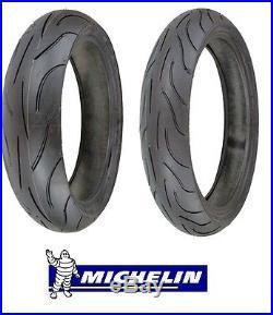 MICHELIN PILOT POWER 2CT 120/70ZR17 & 180/55ZR17 180 55 17 120 70 17 tire set