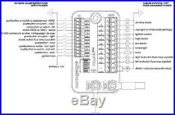 MOTOGADGET M-UNIT BASIC DIGITAL CONTROL UNIT NEW Fuse Box MG4002035