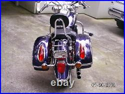 MU Universal Hard Bag Saddlebags for Honda Suzuki Kawasaki Harley Yamaha Victory