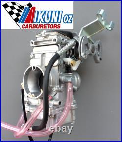 Mikuni Carburetor, TM33-8012 33mm Flatslide Pumper performance carb, Suzuki DR350