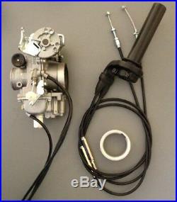 Mikuni Carburetor, TM36-68 36mm Flatslide Pumper Kit Honda XR400