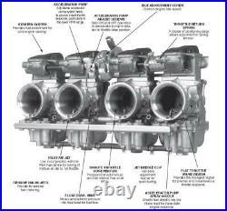 Mikuni RS36-D3-K RS Series Carburetor (RS36-D3 K) 36mm