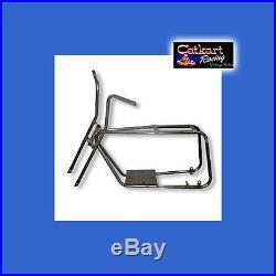 Mini Bike Frame & Forks For Your Honda Briggs Techumseh Predator Motor Minibike