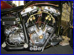 Morris Dual Magneto 74LDMD Harley Big Twin Shovelhead Nose Cone Big Twin FX FL