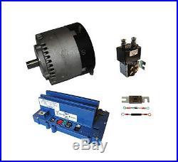 Motor Controller Combo Alltrax SR72400, Motenergy ME1003 & SW180 Solenoid -72V