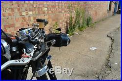 Motorbike Projector Headlight 12V 55W for Streetfighter & Cafe Racer Custom Bike