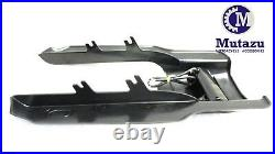 Mutazu 7 Black Angled Fender Extension with Tri Bar for Harley Touring 1996-2008