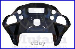 Mutazu Inner ABS Front Fairing with glove for Harley Road Glide 1998-2013 FLTR