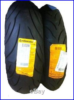 NEW 120 70 17 Front & 190 50 17 Rear Continental Conti-Motion Motorcycle Tires
