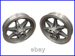 NEW! 16 Front & Rear Mag Aluminum Wheel Rim Set Harley-Davidson FL 1973-84 3.00