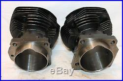 NEW Front & Rear Cylinders Harley Davidson 74SHOVELHEAD 1966-E1978 Stock Bore